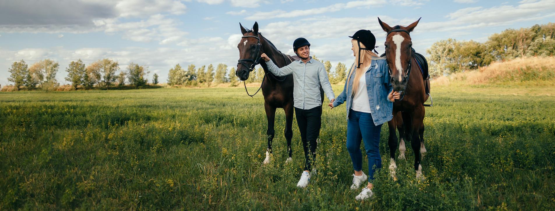 Фото - Прогулянка на конях для двох