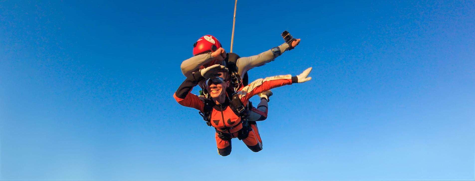 Фото - Прыжок с парашютом в тандеме с видео