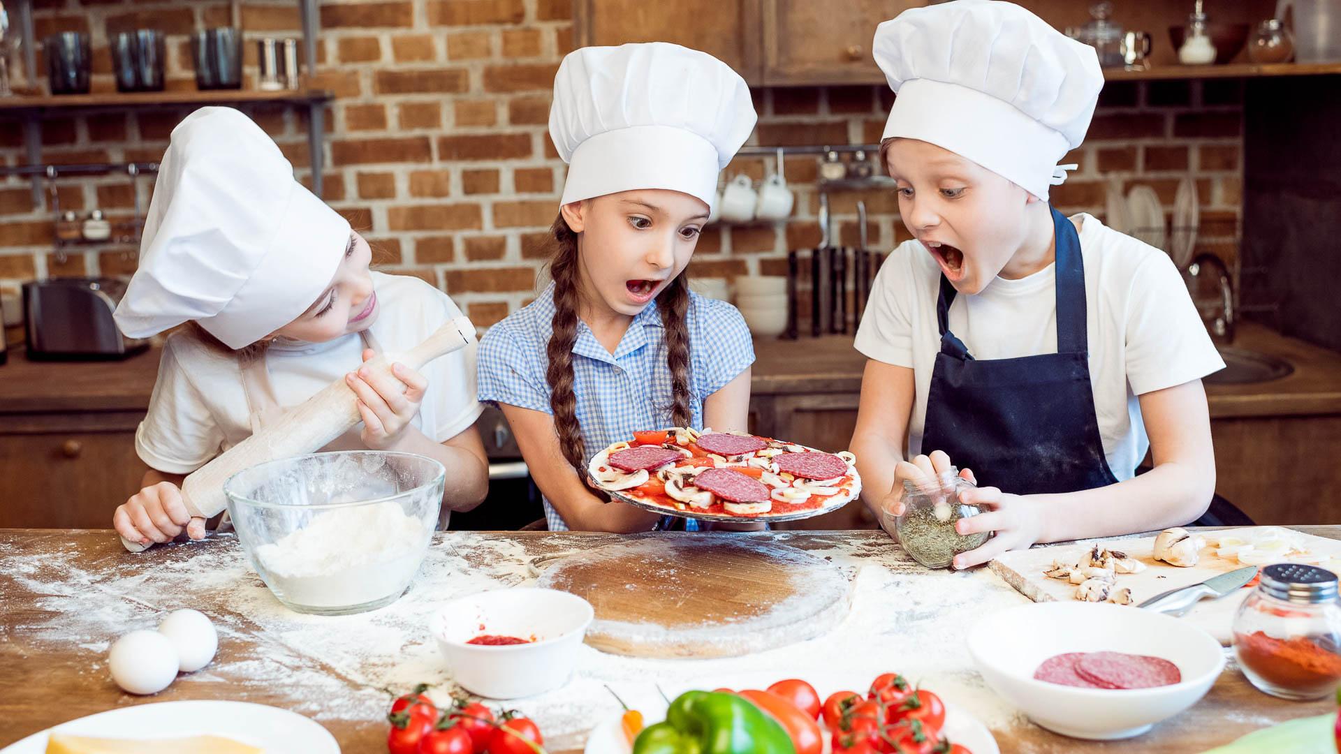 Детский кулинарный мастер класс фото